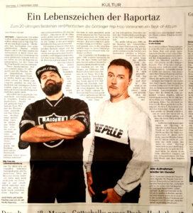 Dresta in Göttinger Tageblatt (2019)
