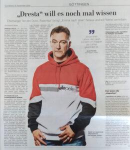Dresta in Göttinger Tageblatt (2020)